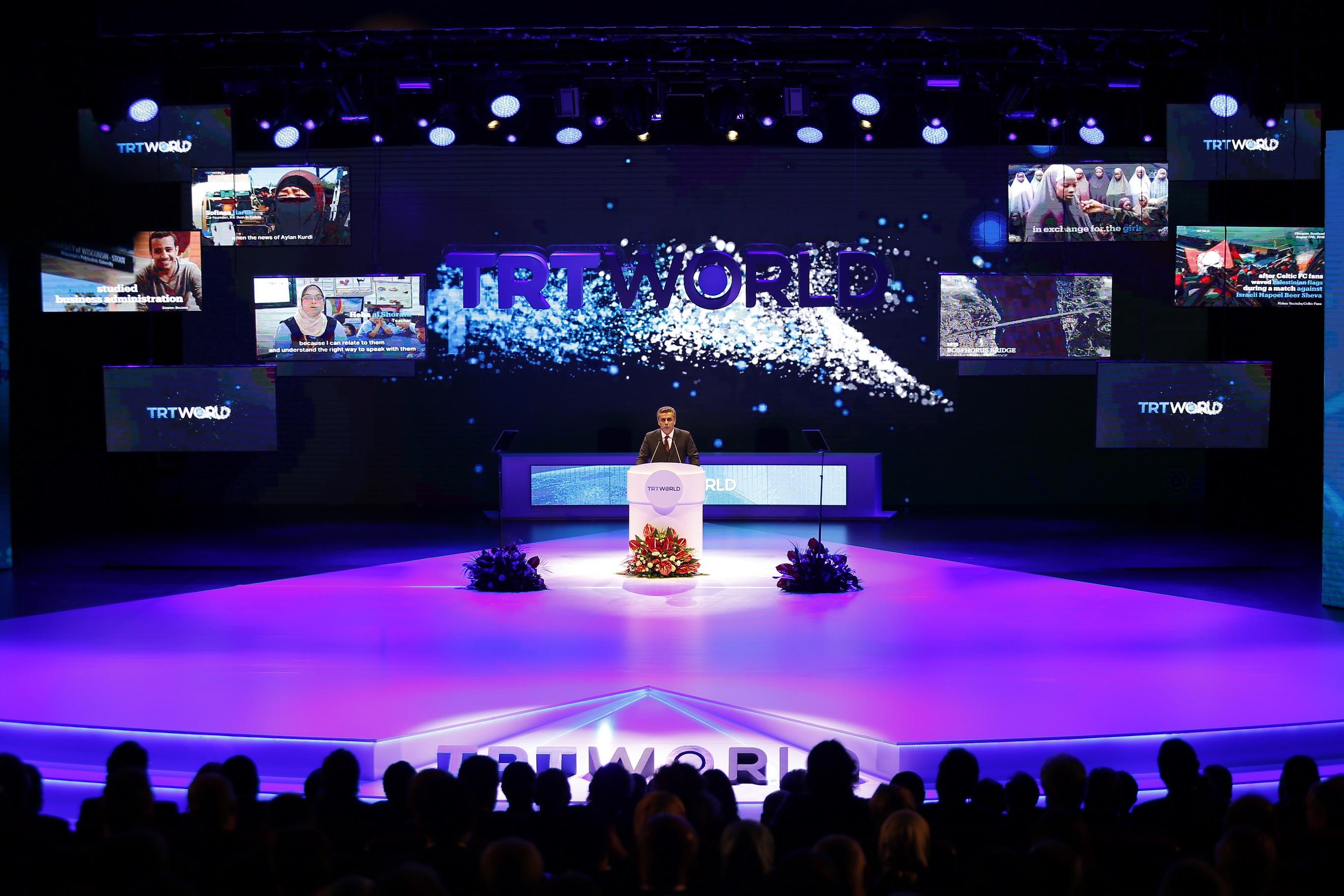 TRT World Tanıtım Gecesi'nde Neler Yapıldı?